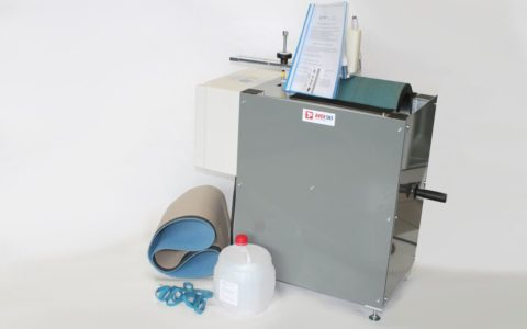 Machine with consumables